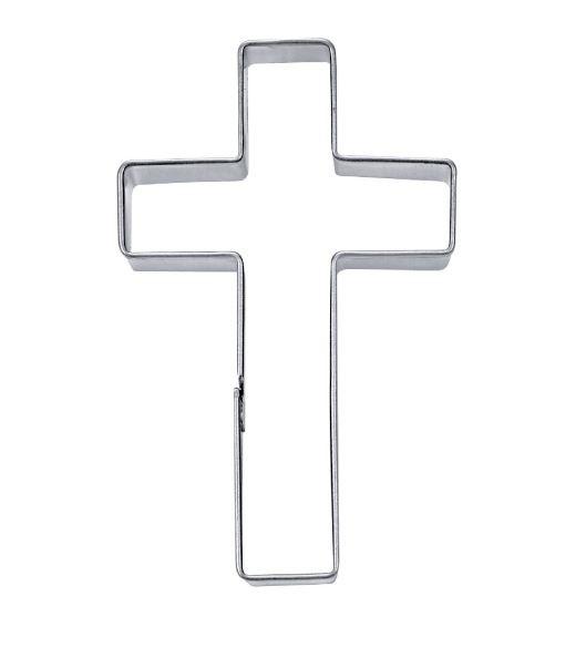 Croce.Stadter Tagliabiscotto A Forma Di Croce Cristiana 9 Cm Tagliapasta Segnaposto Chiesa